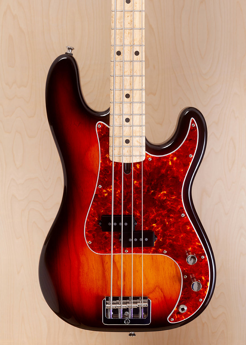5734 in 3 Tone Sunburst with Spitfire Tortoiseshell Pickguard