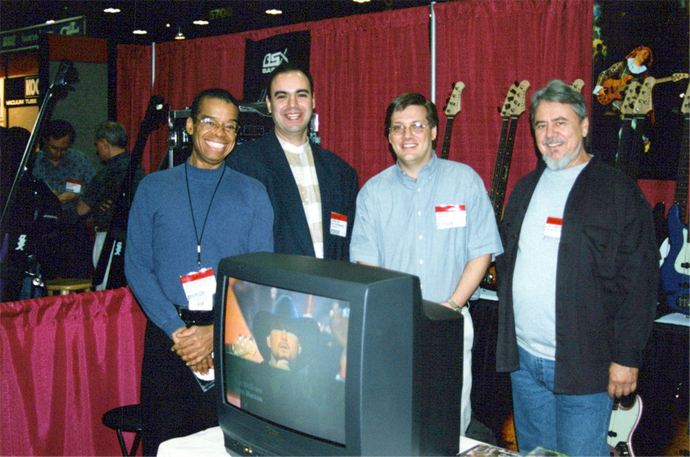 Anthony Jackson, Chris Jisi, Dan, and Joe