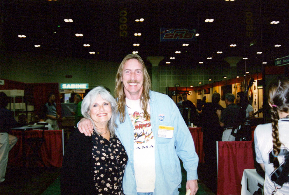 Brenda Lakin (Dan's mom), and Jake Willemain