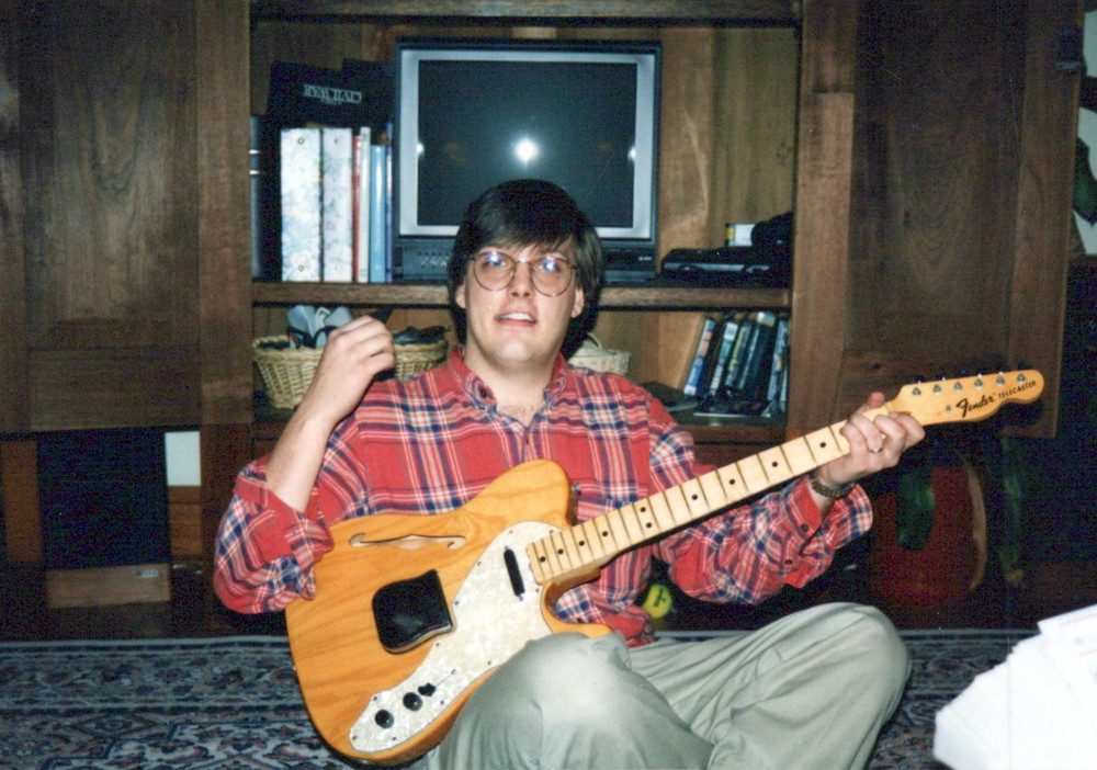 Dan 1991 with Telecater Thinline