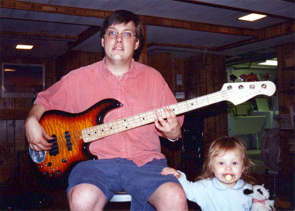 Dan and Laura Lakin (Dan's daughter) with x01