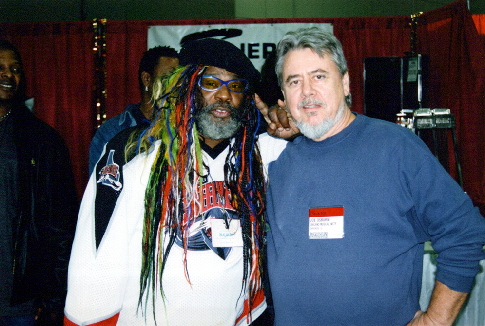 George Clinton and Joe Osborn