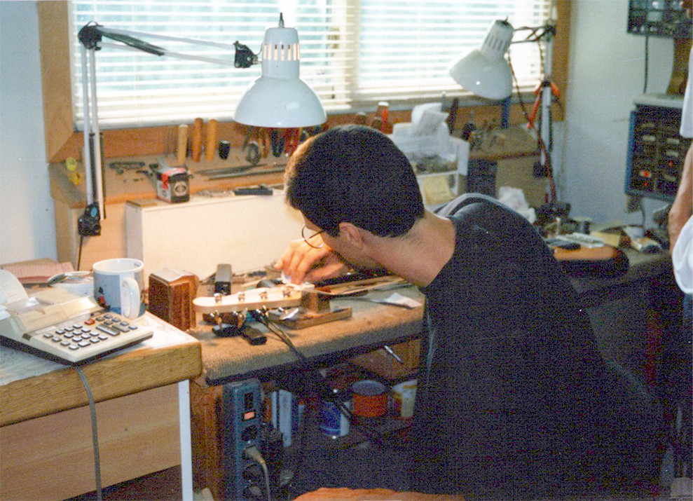 Hugh works on nut on x01