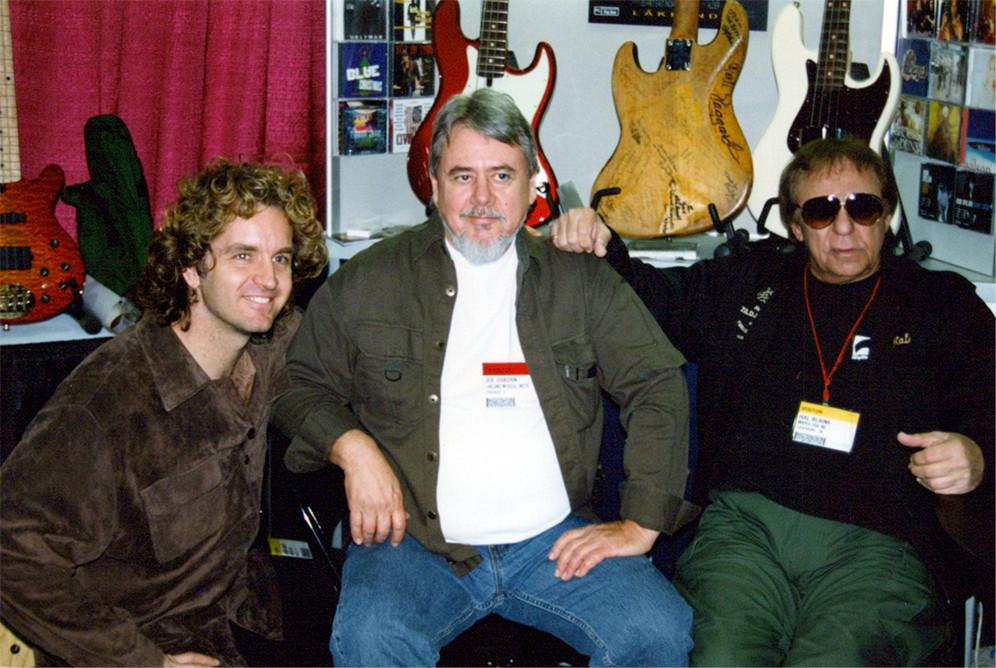 Jason Scheff, Joe, Hal Blaine