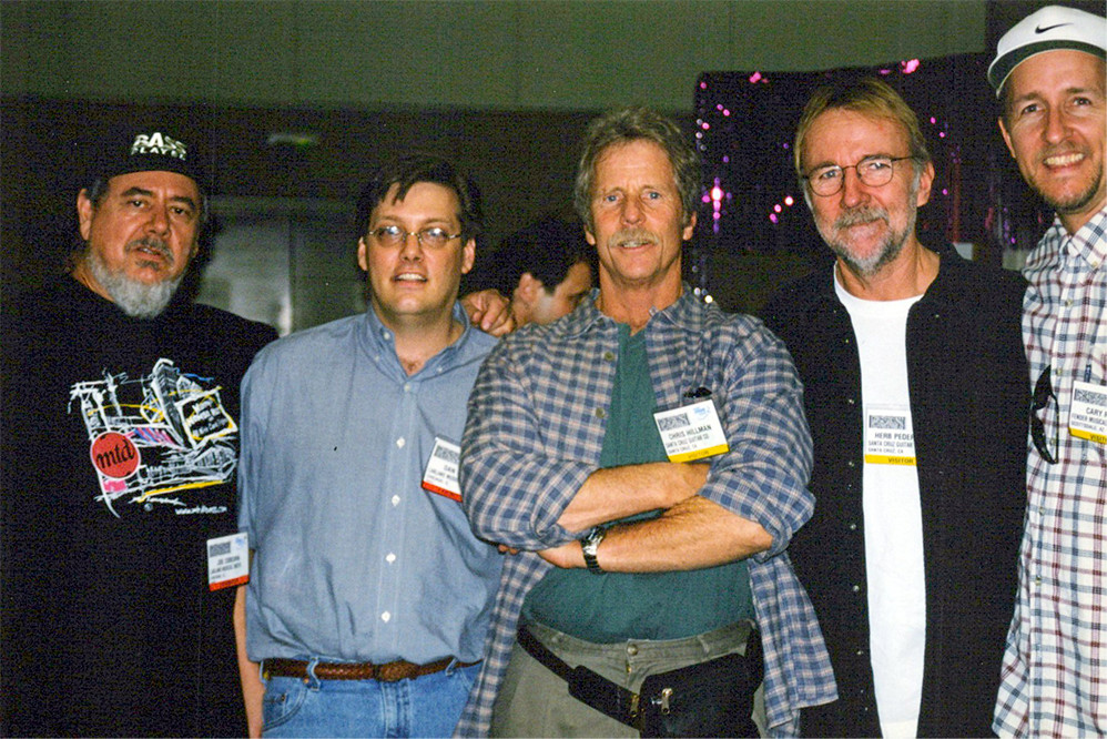Joe, Dan, Chris Hillman, Herb Pederson, Cary