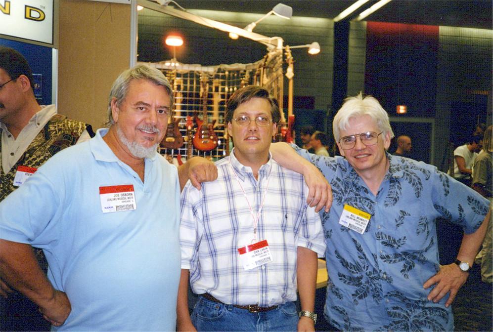 Joe, Dan, David Hungate