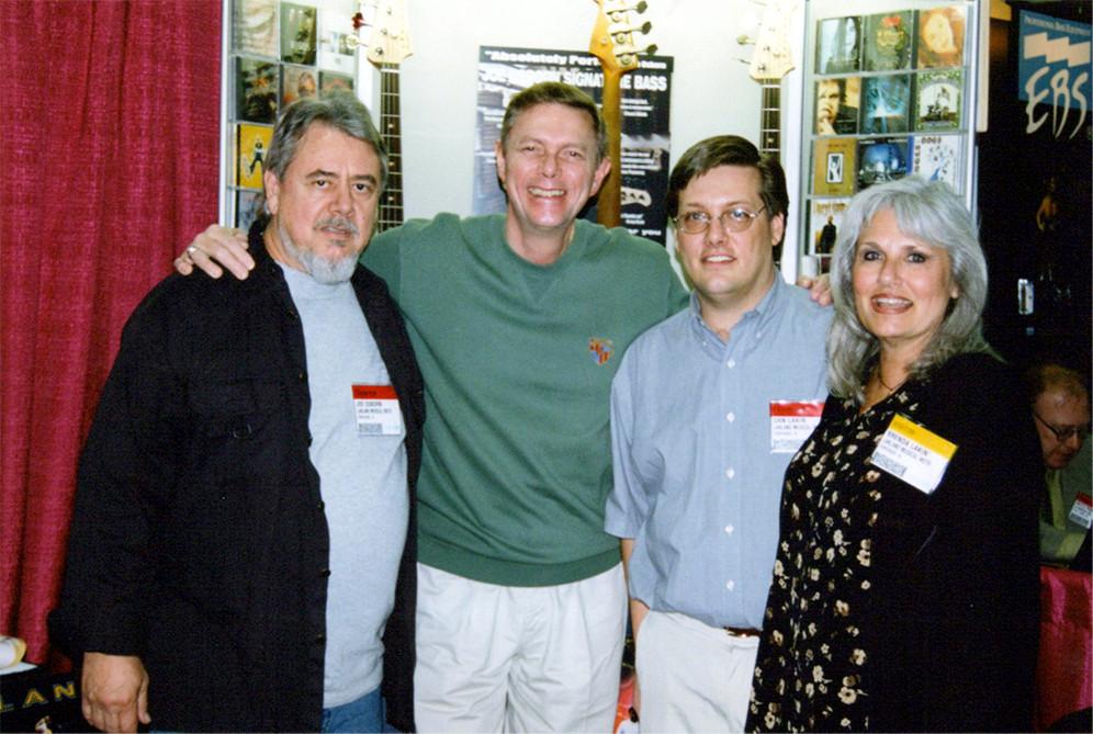 Joe, Richard Carpenter, Dan, Brenda Lakin (Dan's mom)