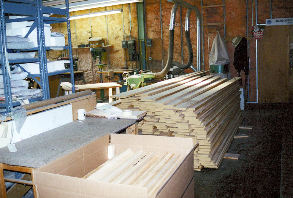 Quartersawn maple for necks