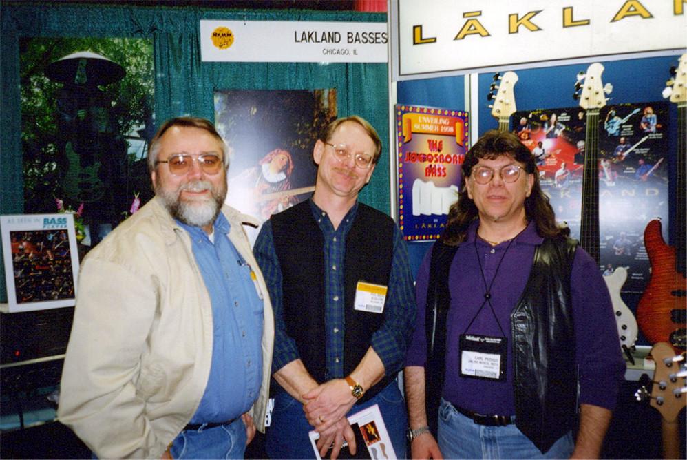 Steve Carlson , Phil (NC Solutions), Carl Pedigo