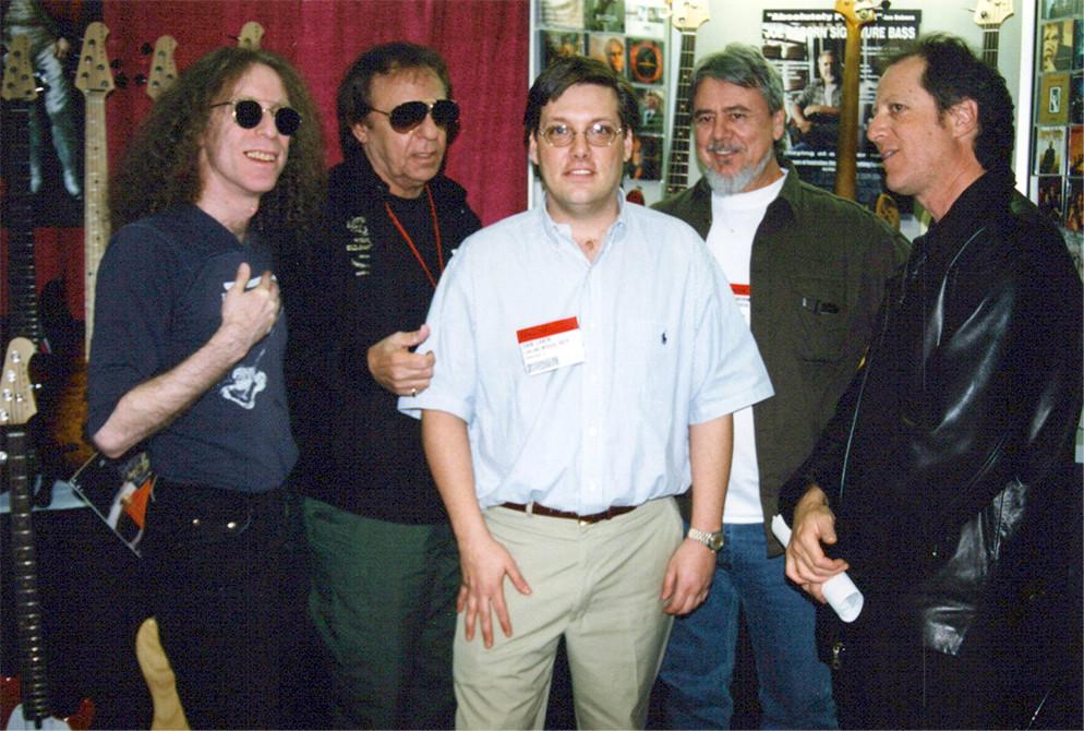 Waddy Wachtell, Hal Blaine, Dan, Joe, Bob